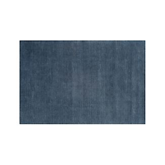 Baxter Blue Wool 9'x12' Rug
