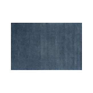 Baxter Blue Wool Rug 5'x8'