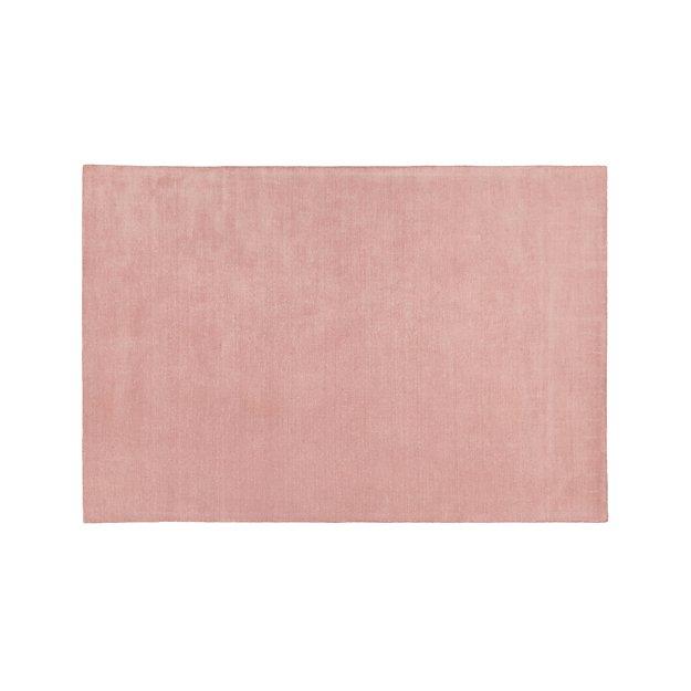 Baxter Blush Pink Wool Rug 10'x14' - Image 1 of 3