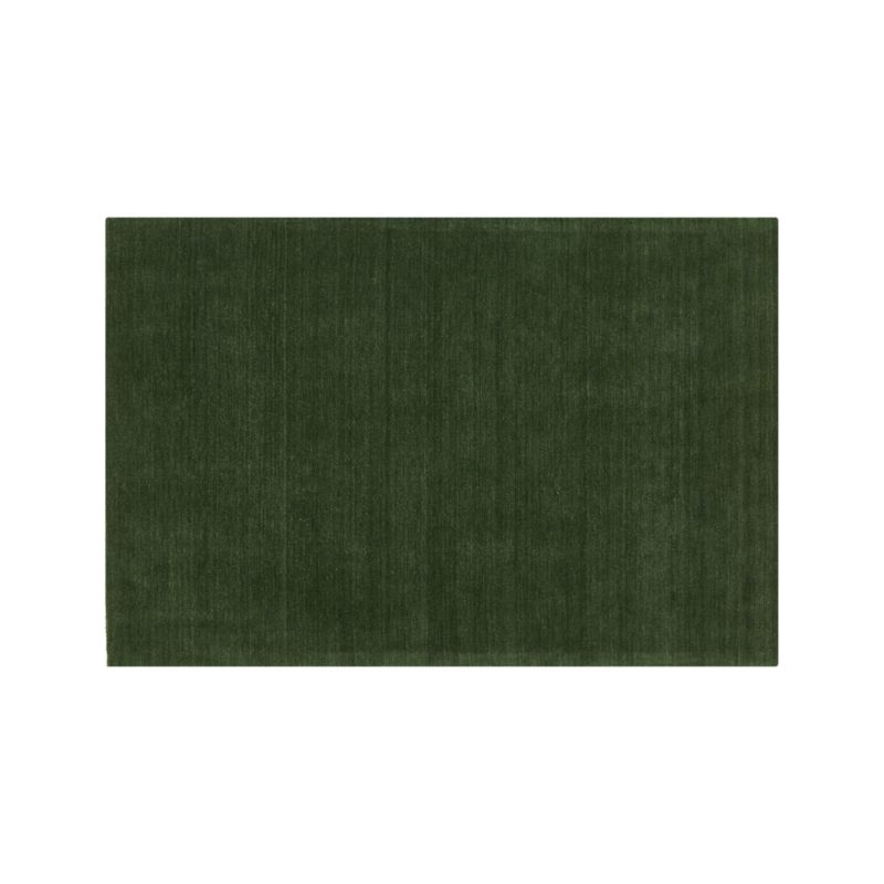 Baxter Bronze Green Wool Rug 8 X10 Reviews Crate And