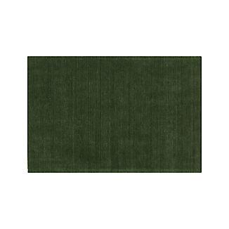Baxter Bronze Green Wool Rug 5'x8'