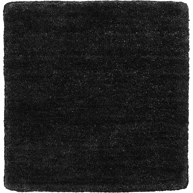 "Baxter Carbon Wool 12"" sq. Rug Swatch"