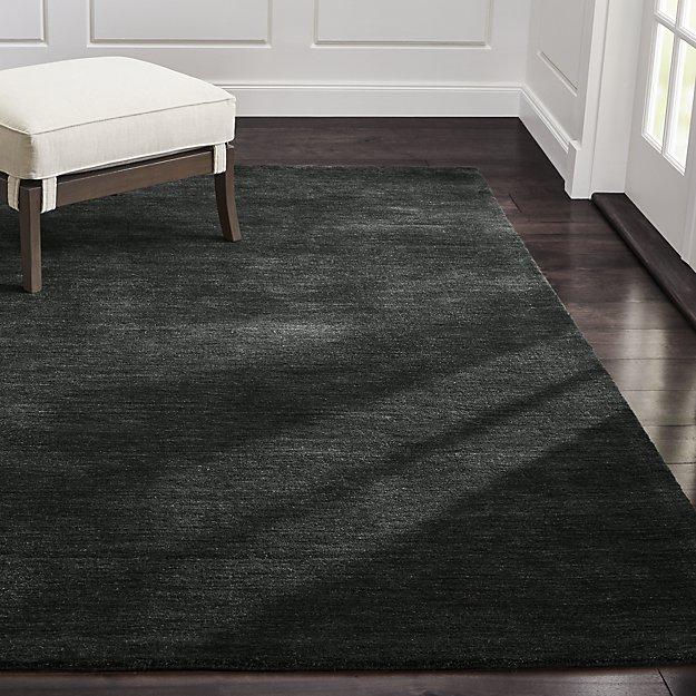 Baxter Carbon Wool Rug