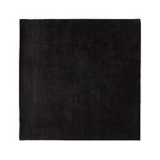 Baxter Charcoal Wool Rug 8' Square