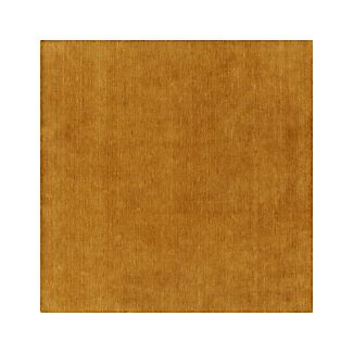 Baxter Gold Yellow Wool 8' sq. Rug