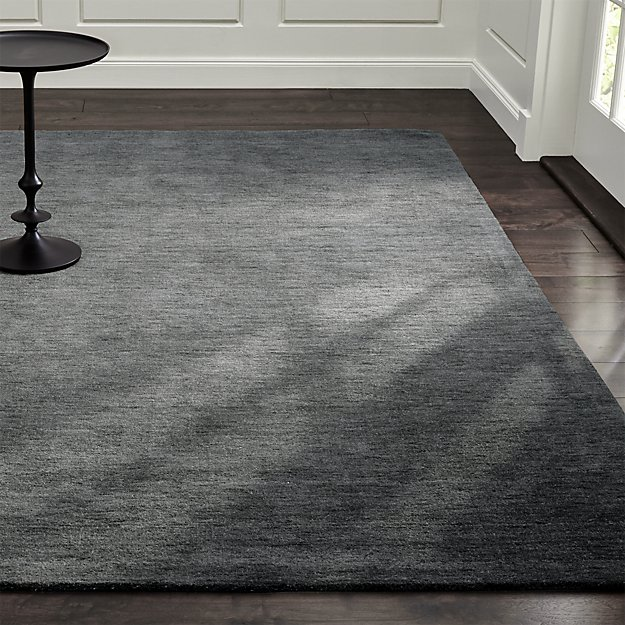 Baxter Grey Wool Rug