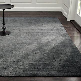Baxter Grey Wool Rug