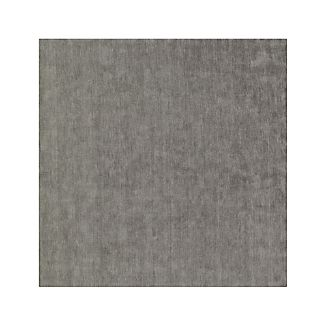 Baxter Grey Wool Rug 8' Square