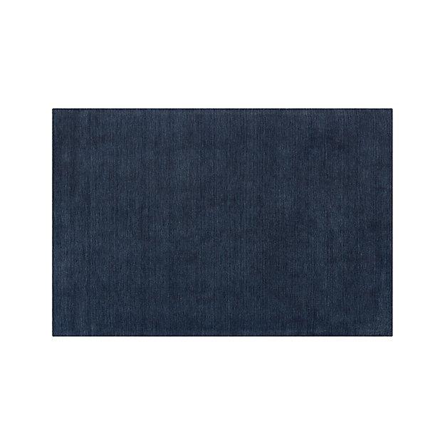 Baxter Indigo Blue Wool 10'x14' Rug