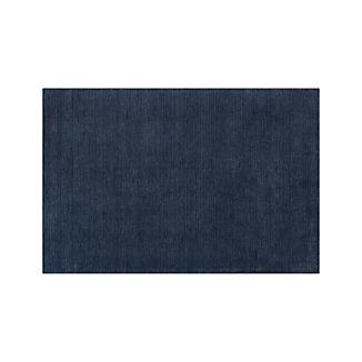 Baxter Indigo Wool Rug 5'x8'
