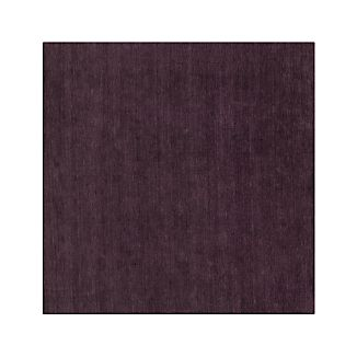 Baxter Plum Purple Wool Rug 8' sq.