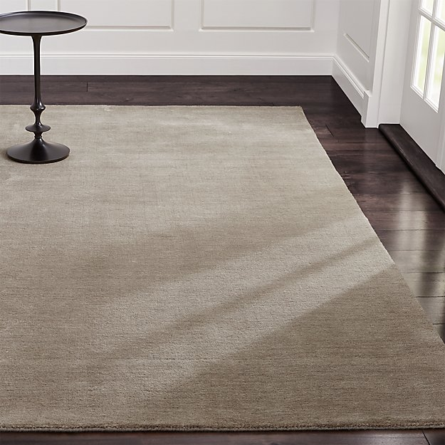 Baxter Putty Wool Rug 10 X14 Crate And Barrel