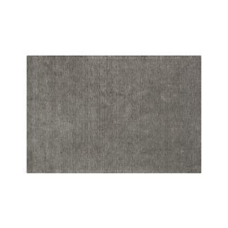 Baxter Grey Wool 6'x9' Rug