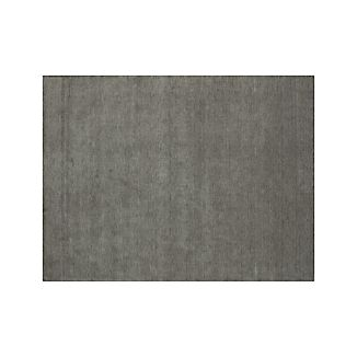 Baxter Grey Wool Rug 9'x12'