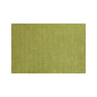 Baxter Lemongrass Green Wool 9'x12' Rug