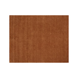 Baxter Marigold Orange Wool 12 Quot Sq Rug Swatch Crate And