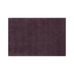 Baxter Plum Purple Wool 12 Quot Sq Rug Swatch Crate And Barrel
