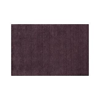 Baxter Plum Purple Wool Rug 5'x8'