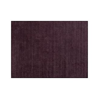 Baxter Plum Purple Wool 9'x12' Rug