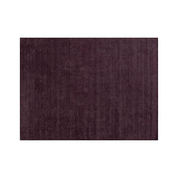 Baxter Plum Purple Wool 9'x12' Rug