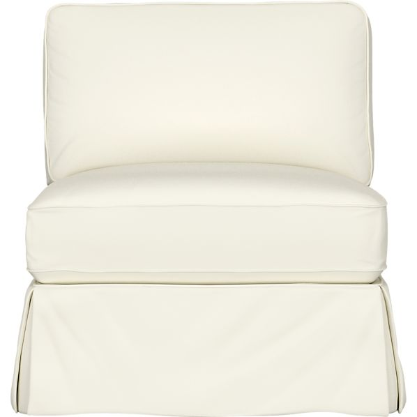 Slipcover for Bayside Armless Chair