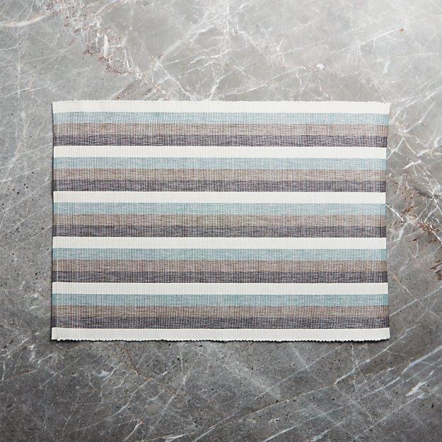 Bayside Stripe Placemat