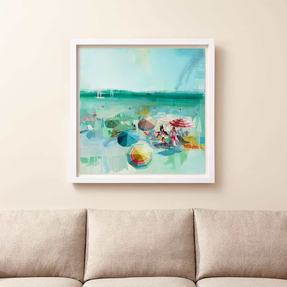 Beach Dear Print - Crate and Barrel