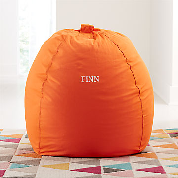 Incredible Kids Floor Pillows Bean Bag Chairs Poufs Crate And Barrel Gmtry Best Dining Table And Chair Ideas Images Gmtryco