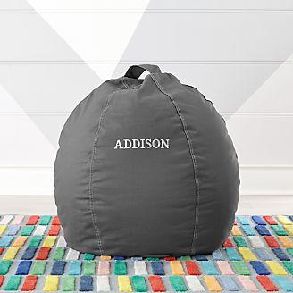 Kids Floor Pillows Bean Bag Chairs Poufs Crate And Barrel