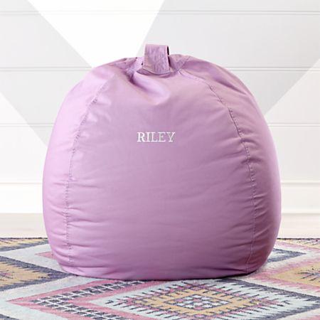 Marvelous Large Lilac Bean Bag Chair Beatyapartments Chair Design Images Beatyapartmentscom