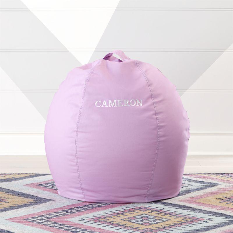 Groovy Small Lilac Bean Bag Chair Machost Co Dining Chair Design Ideas Machostcouk