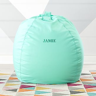 Large Mint Bean Bag Chair