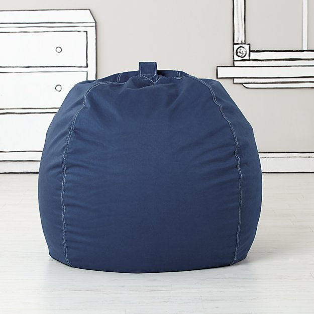 : bean bag chair blue - Cheerinfomania.Com