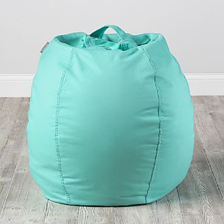 Small Mint Bean Bag Chair