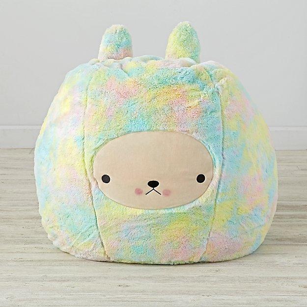 Beanbag Furry Bunny