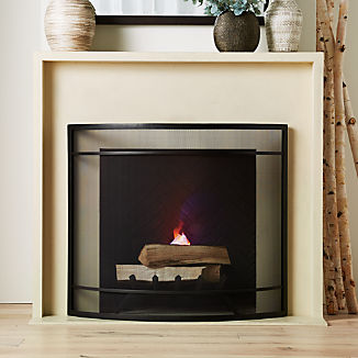 8967bbdd6 Fireplace Screens | Crate and Barrel