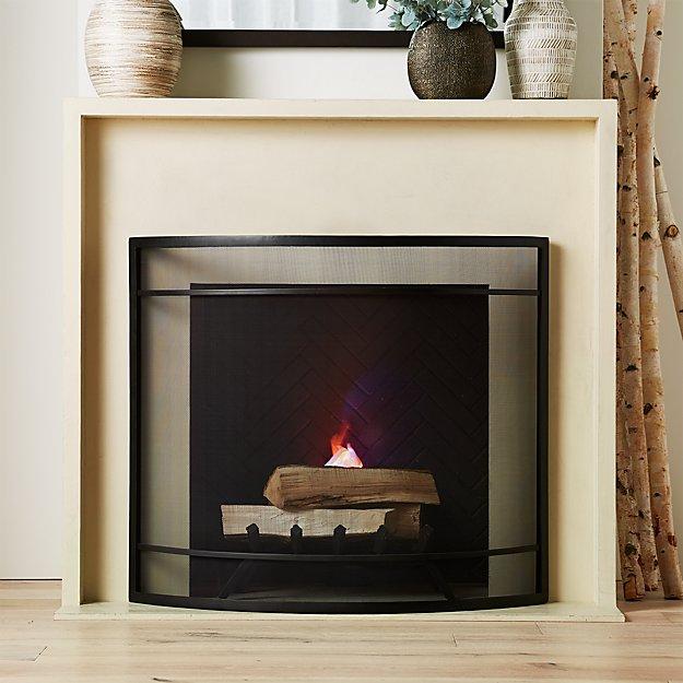 Beau Fireplace Screen - Image 1 of 6