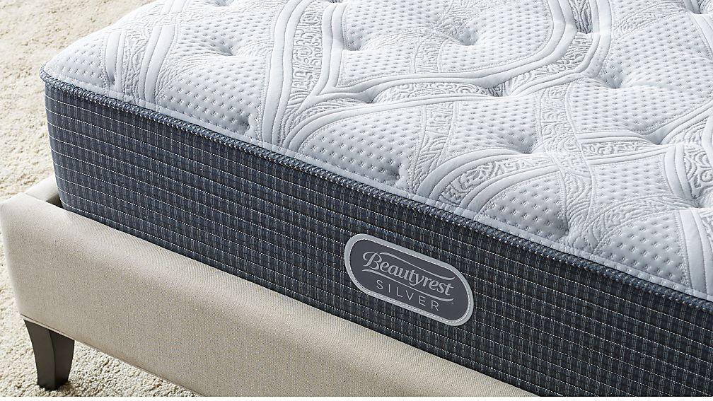 Simmons® King Beautyrest® Silver™ Firm Mattress