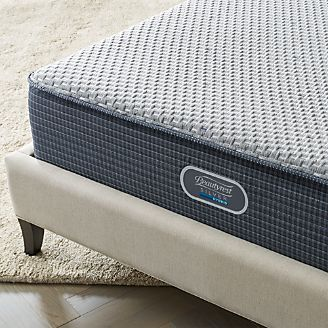 simmons beautyrest silver hybrid firm mattress