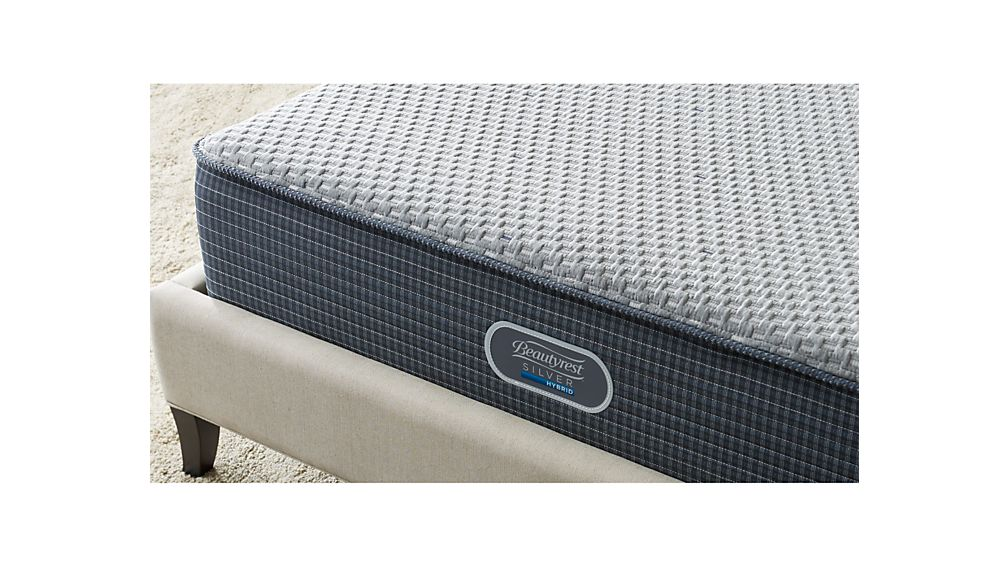 Simmons® King Beautyrest® Silver™ Hybrid Plush Mattress