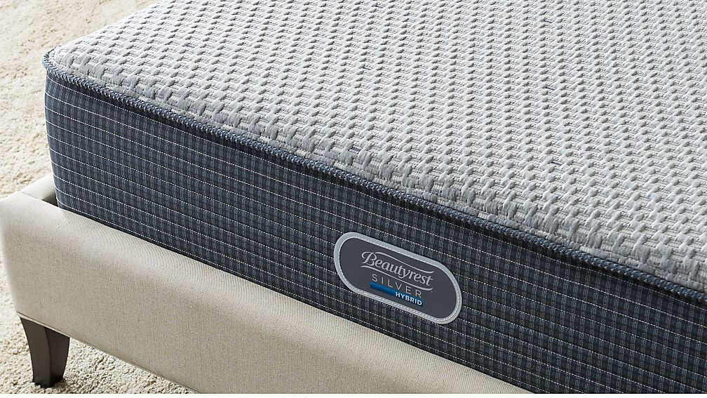 Simmons King Beautyrest Silver Hybrid Plush Ma Reviews Crate And