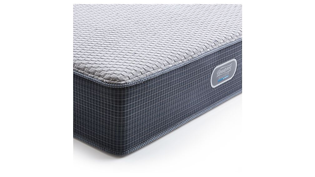 Simmons® California King Beautyrest® Silver™ Hybrid Firm Mattress