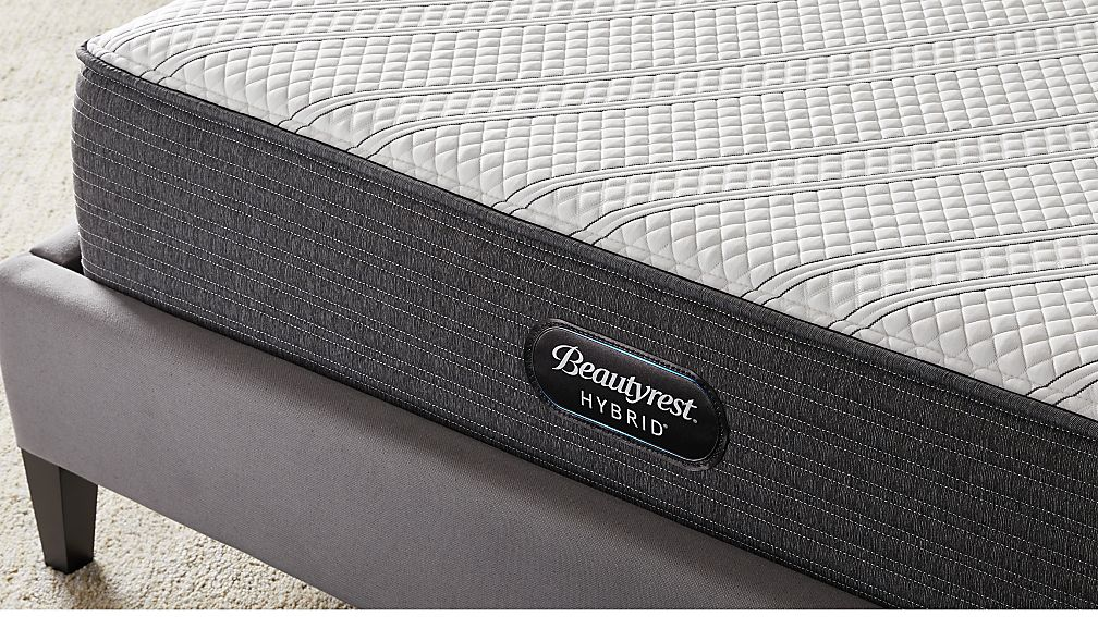 Simmons Beautyrest Hybrid Brx1000 Plush King Mattress Reviews Crate And Barrel