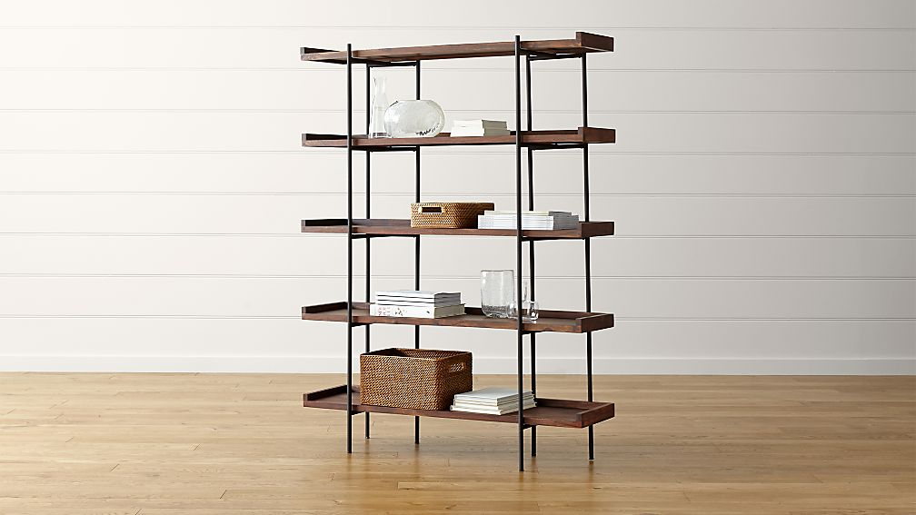 Beckett 5 High Shelf Sable Reviews Crate And Barrel