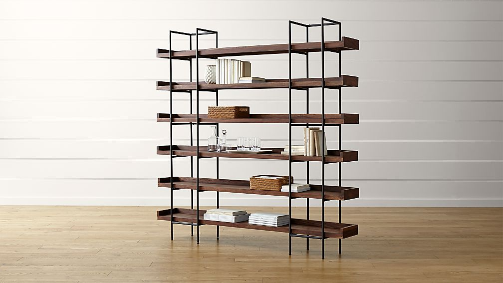 Beckett 6 High Shelf Sable Reviews Crate And Barrel