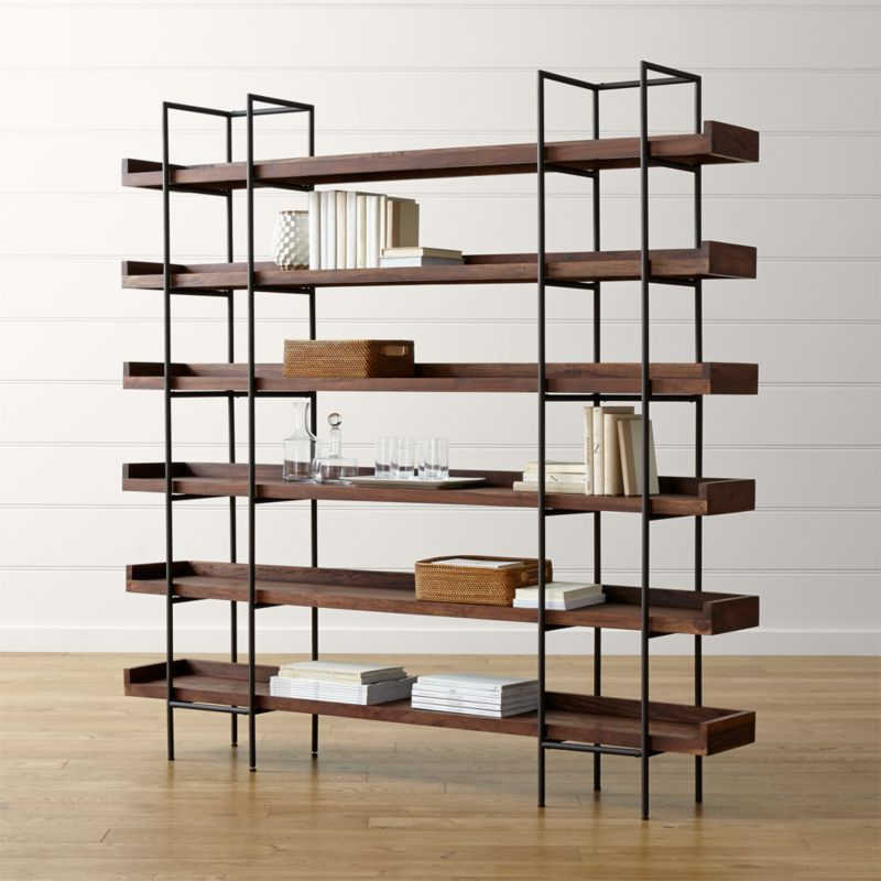 Beckett 3 High Shelf Sable Reviews Crate And Barrel