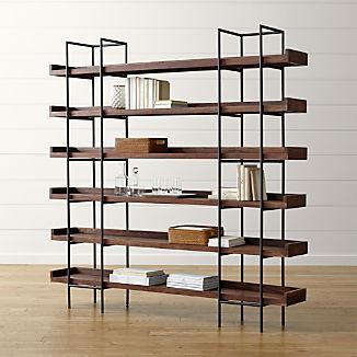Beckett 6-High Shelf Sable
