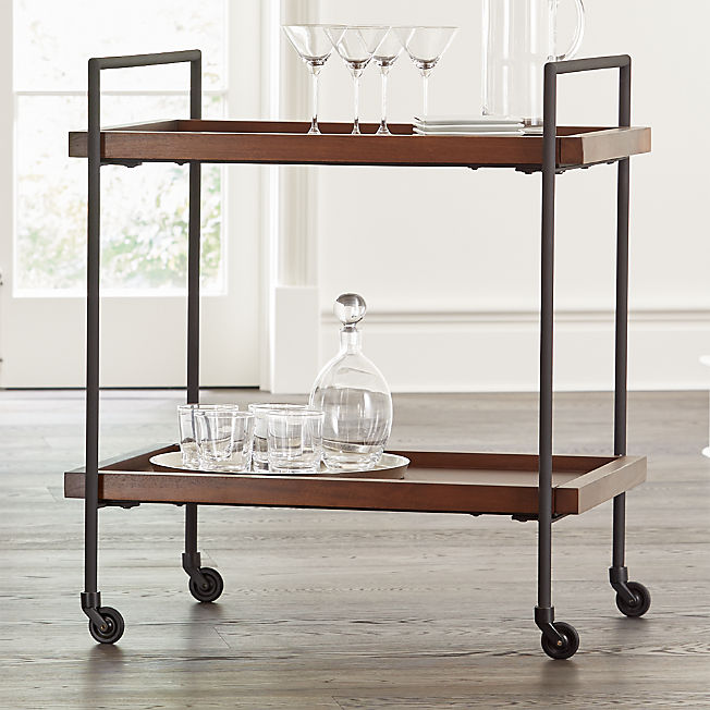 Bar Cabinets and Carts: Home Bar Storage | Crate and Barrel