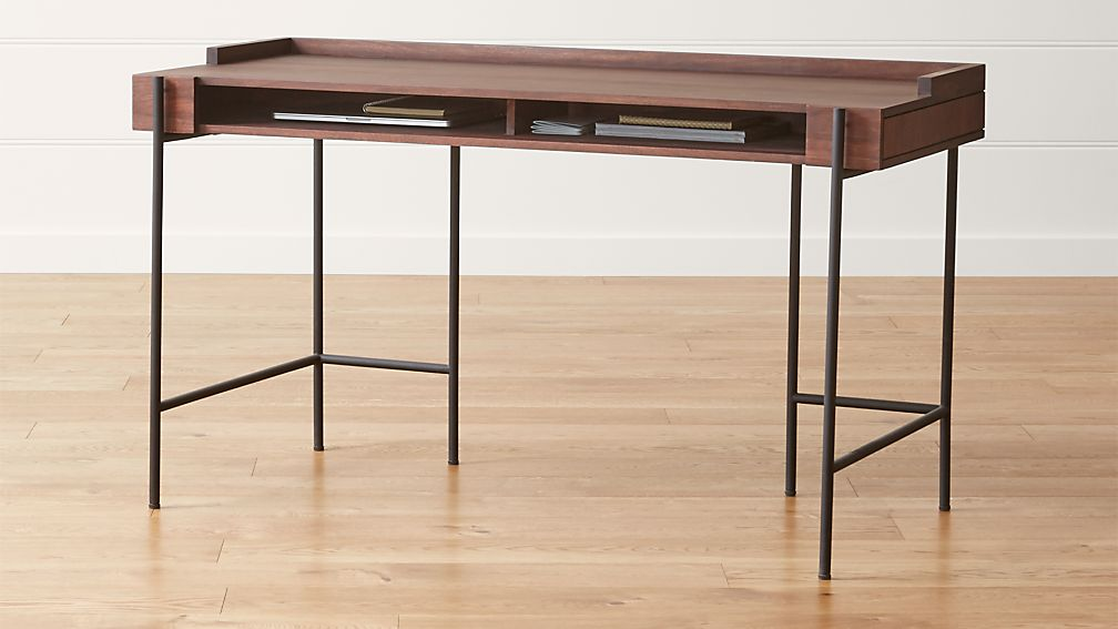 Table Desks Office To Beckett Desk Reviews Crate And Barrel