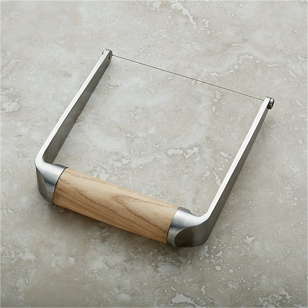 Wire Cheese Slicer | Crate and Barrel